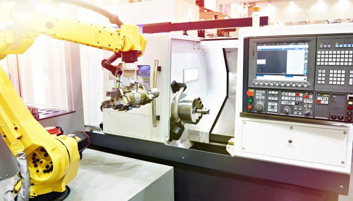 CNCとロボットアーム